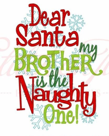my naughty brother I love the my naughty little sister tales the little girl is always getting into mischief and its funny to know that children are still like that now, maybe they don't go and bite santa's hand but they can still get into trouble a lot.
