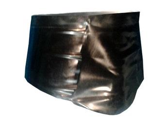Men's Underwear with front pouch | Latex Rubber Gummi | XS S M L XL | Range of colours
