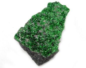 Uvarovite Stone - Rare Stone from Russia - Wholesale - Wire Wrapping - Stone Setting - Lapidary - Chakra- Metaphysical  (RK48B1)