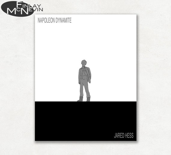 Napoleon Dynamite Drawing Poster
