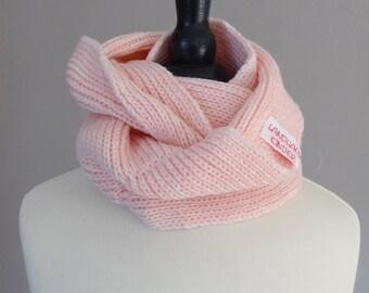 Baby Loopschal of pure Merino Wool