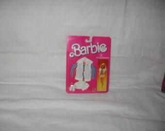 vintage 1985 mattel barbie ;b; active fashions outfit #2187