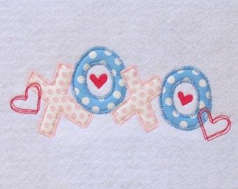 Valentine Applique Design
