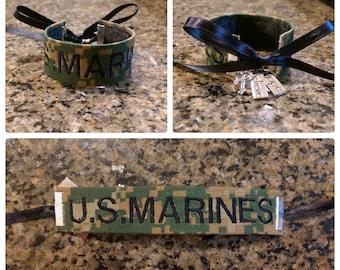 Woodland - U.S. Marine Branch Name Tape Bracelet