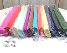 Crepe paper, Wide crepe paper rolls, Premium colored crepe paper, Paper supplies, Party supplies, Giant flower crepe paper