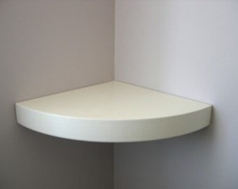 bespoke size corner shelf
