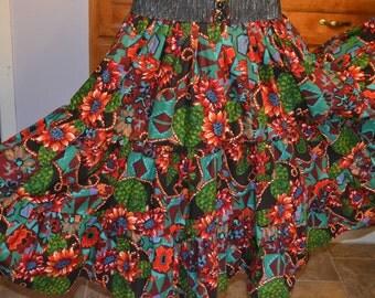 Prairie skirt multi color.