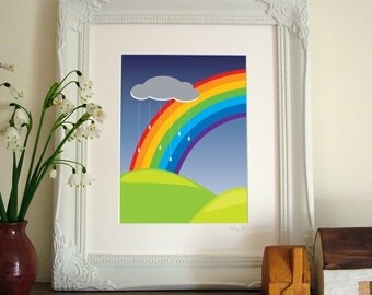 Over the Rainbow Print
