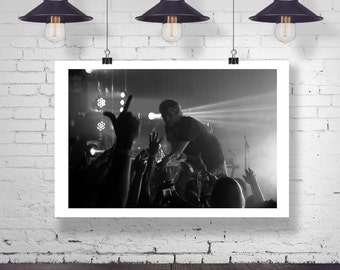 Photograph -  Awolnation Aaron Bruno Music Concert -  Fine Art Print Wall Art Home Decor