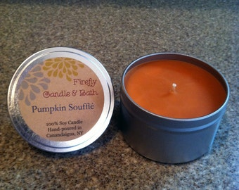 Pumpkin Soufflé - 6 oz. Scented Soy Candle Tin