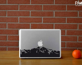Macbook Sticker Mountain
