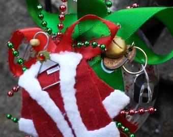 Christmas Ornament - Santa Claus Coat, Keys & Belt