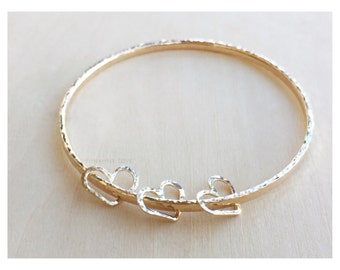 Heart charm for bangles - Heart Charms