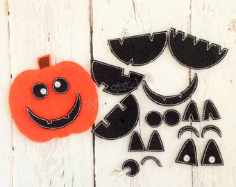 ITH Build-A-Jack-O-Lantern Playset Embroidery Design