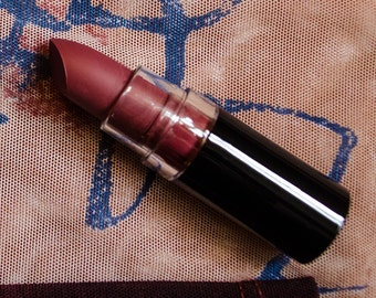 What Lies Beneath : Dark Red Semi Matte Opaque Vegan Lipstick