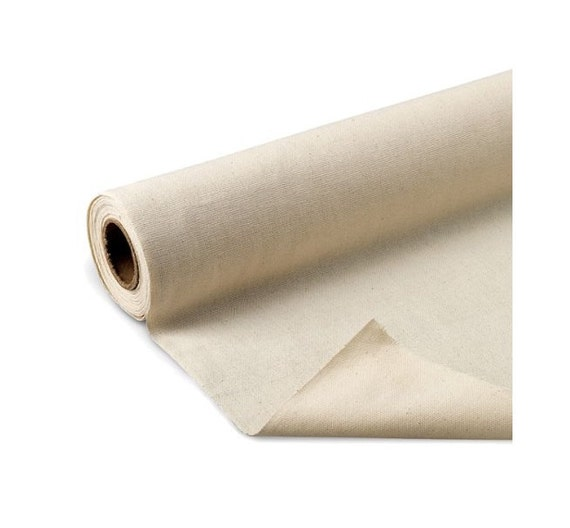 Unprimed cotton canvas roll 6 yds x 62 canvas roll for for Canvas roll for painting