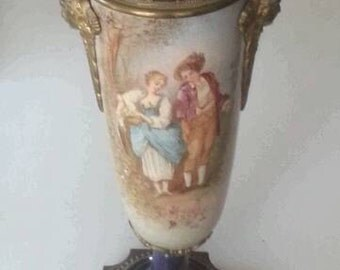 "Ormolu mounted 13"" Vase"