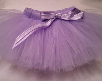 Lavender Tutu, Purple Tutu, lavender baby tutu, baby tutu, infant tutu, toddler tutu, newborn tutu, birthday tutu, girls tutu, wedding tutu