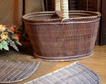 Antique shaker basket or hamper.