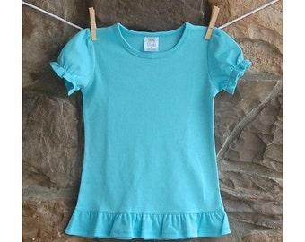 Girl's Blue Shirt,