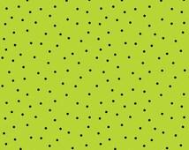 Mind Your Mummy - Pin Dot, Lime (MAS8218-GJ) Maywood Studio Fabric Yardage
