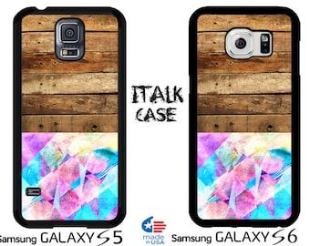 Samsung Galaxy S5 Case Galaxy S6 Case Galaxy S5 Cover Galaxy S6 Cover Galaxy S5 Galaxy S6 Case Galaxy S5 Galaxy S6  Geometric Wooden