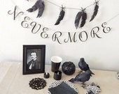 Halloween Party Box- Party box for eight- Black and white party- Halloween party