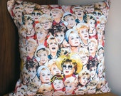 COVERS ONLY- Murder She Wrote illustrated and handmade cushion