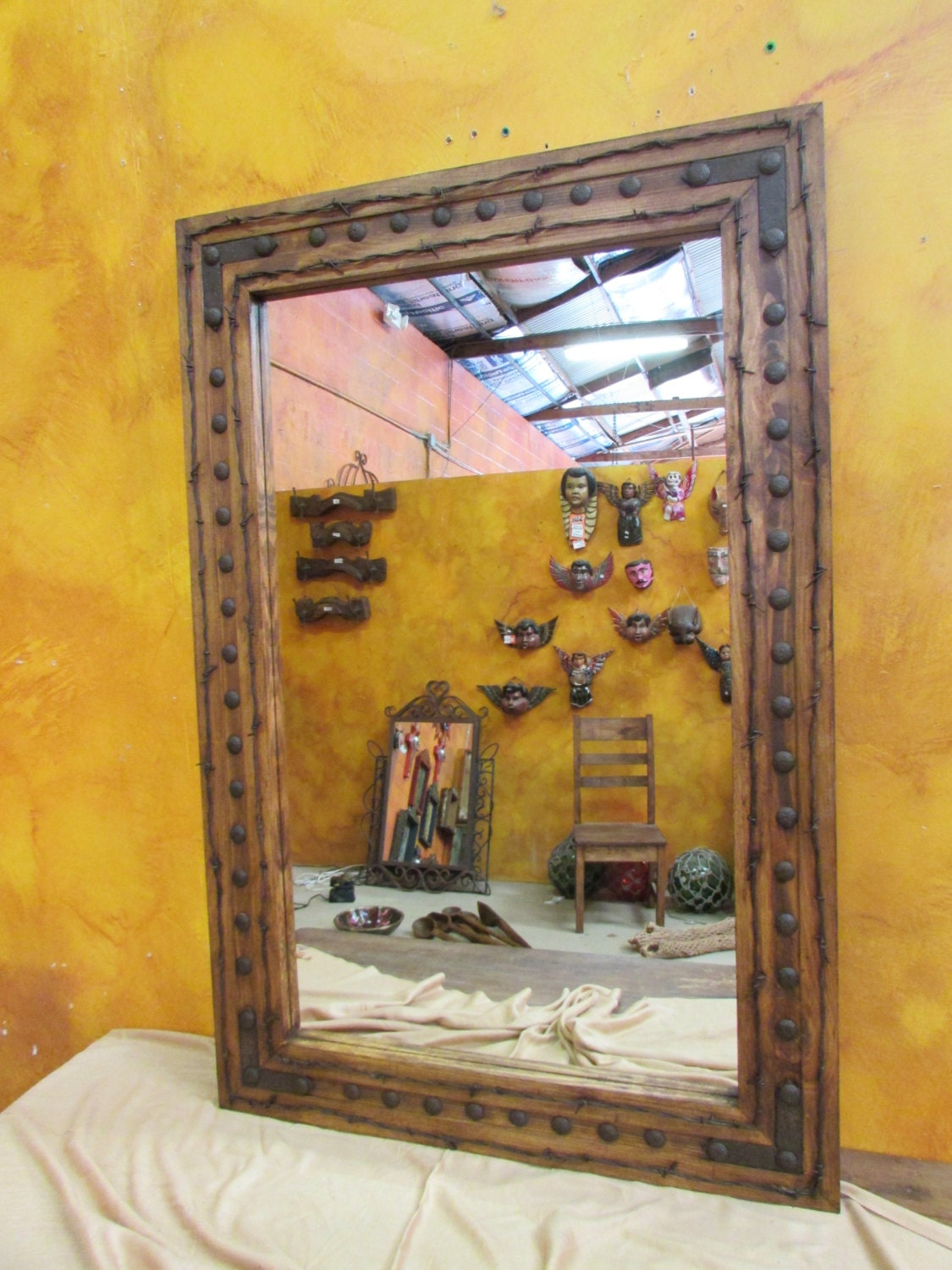 Bathroom Vanity Mirror Rancho Adobe Rustic Mirror 30x45