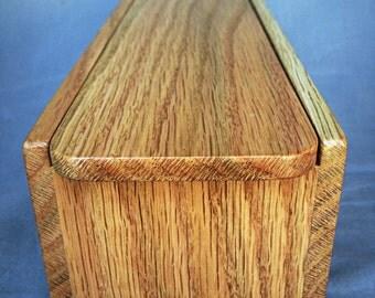 Oak Pencil Box/ Keepsake Box