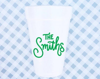 CUSTOM Cups + Napkins