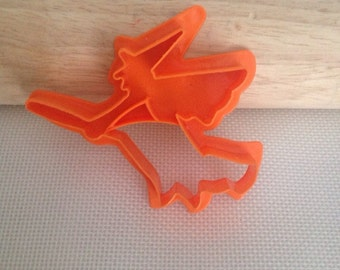 Witch Cookie Cutter on a Broom