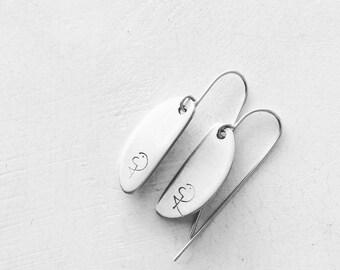 """Aluminum earrings """"minimalchic"""" """"earrings"""""""