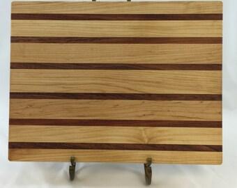 Maple and Brazillian Cherry Cutting Board
