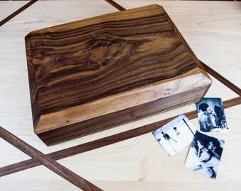 Custom Engraved Keepsake Box