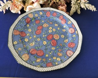 "Vintage Royal Doulton D4252 'Persian Anemone' 1928-1931 Decorative 10"" Plate"