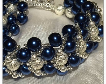 Royal Blue Bracelet Kate Middleton Blue