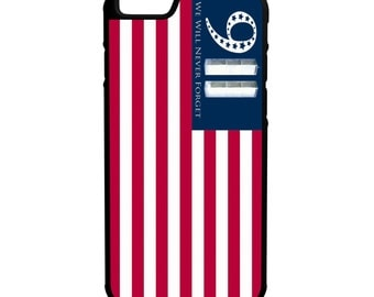9/11 American Flag iPhone Galaxy Note LG HTC Hybrid Rubber Protective Case