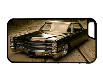 Lowrider Cadillac DeVille iPhone Galaxy HTC LG Hybrid Rubber Protective Case