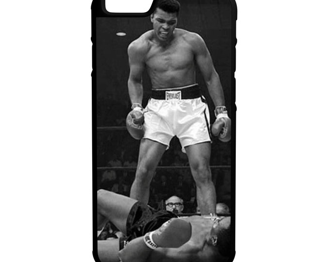 Muhammad Ali iPhone Galaxy Note LG HTC Protective Hybrid Rubber Hard Plastic Snap on Case Black
