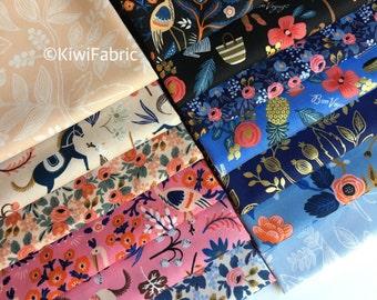 Les Fleurs Bundle - Rifle Paper Co - Cotton and Steel