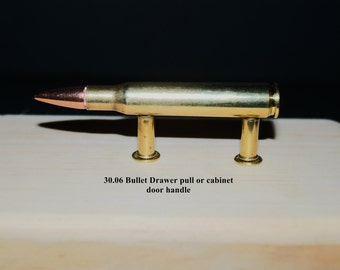 30.06 bullet drawer pulls or cabinet handles