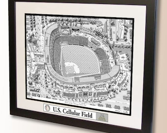 U.S. Cellular Field Art, home of the Chicago White Sox