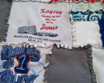 """Baby's """"First"""" Memory Quilt"""