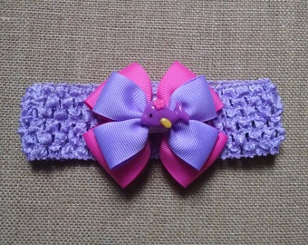 Baby Headband, Fish Headband, Pink Headband, Baby Girl Headband, Baby Hair Accessory, Girls Hairbow, Fish Hairbow, Little Girls Hairbow