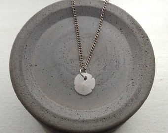 Real sand dollar necklace