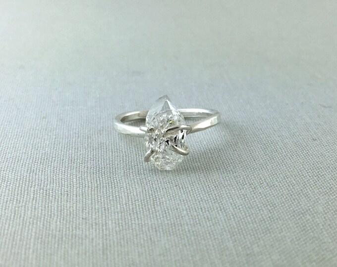 Catalina Ring - Herkimer Diamond / California Collection // herkimer diamond ring, sterling silver, boho jewelry, gemstone ring, quartz ring