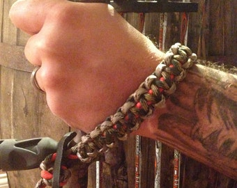 Camo Paracord Bow Wrist Sling - Compound Bow - Archery
