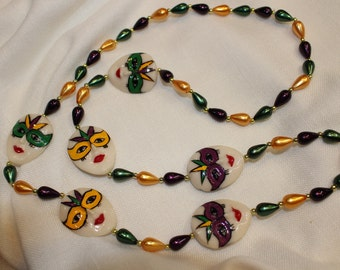 Plastic Mardi Gras Beads