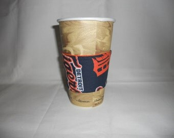 Detroit Tigers Coffee Cup Cozy